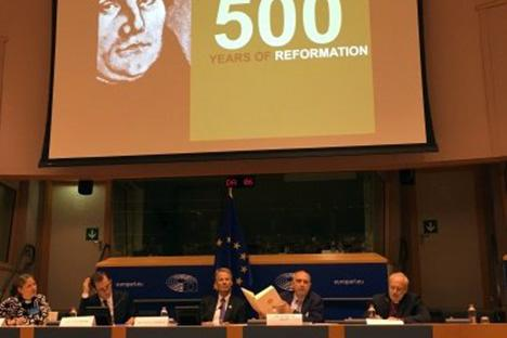 Conferentie  in Brussel over 500 jaar Reformatie