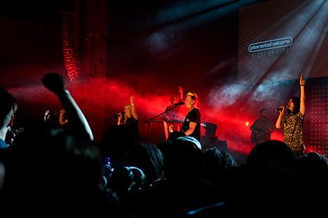 Planetshakers op tour in Nederland met Overflow