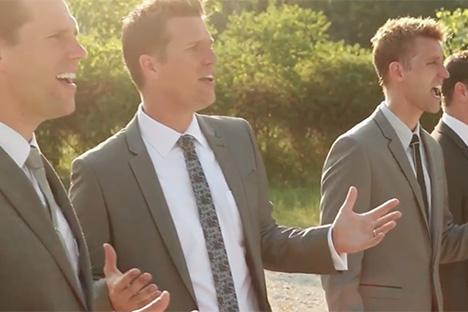 Southern gospel formatie The Ball Brothers naar Nederland