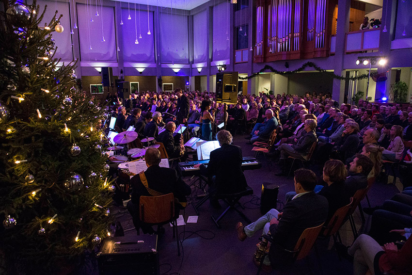 Bigband Gospel Christmas Celebration in actie voor 3FM Serious Request